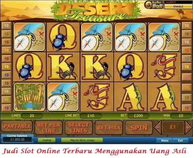 Judi Slot Online Terbaru Menggunakan Uang Asli di Indonesia